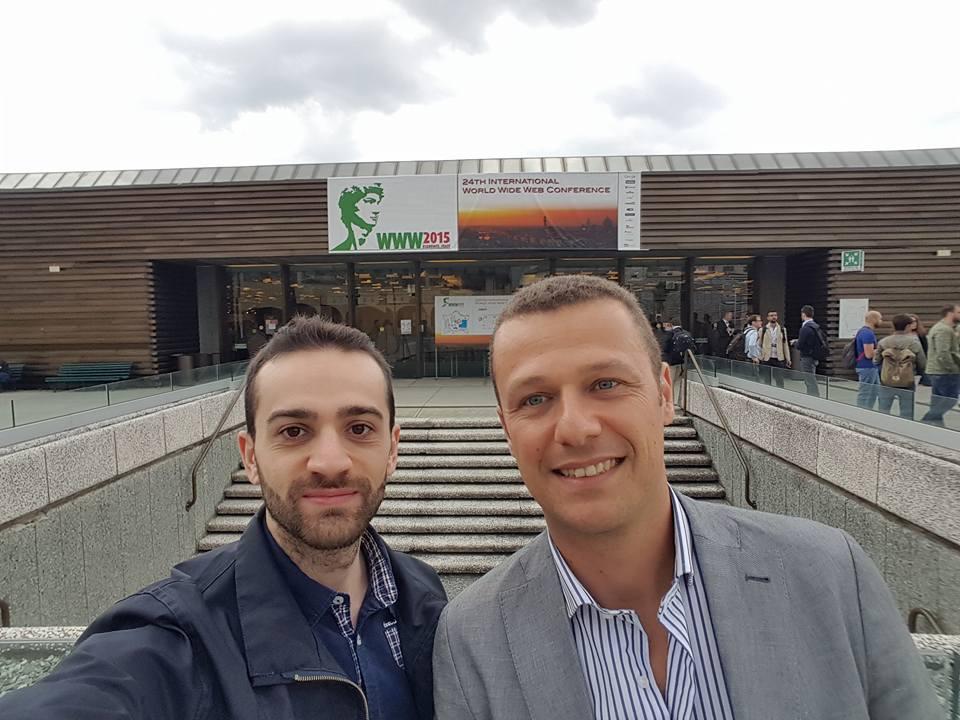 Roberto Dell'Arriccia con Davide De Luca